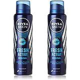 Nivea 2 Lots X Fresh Active Original 48 Hours Deodorant, 150Ml