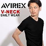 デイリーVネックリブTシャツ 半袖 アヴィレックス画像②