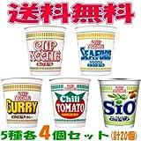 日清 カップヌードル 5種 各4個セット(計20個)