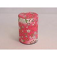 茶筒 友禅柄貼缶(1)40g用 お茶の保管、小物入れなどに