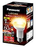 パナソニック LED電球 レフ電球 E26口金 60W形相当 電球色 密閉器具対応 一般電球 レフタイプ LDR6LWRF6
