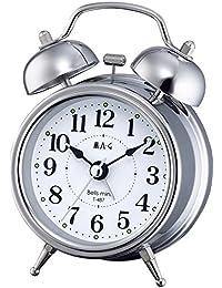 MAG(マグ) 目覚まし時計 ベルズミニ アナログ表示 ツインベル シルバー T-487S-Z