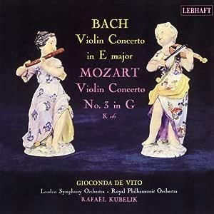 バッハ&モーツァルト/ヴァイオリン協奏曲集 デ・ヴィート (CD-R)
