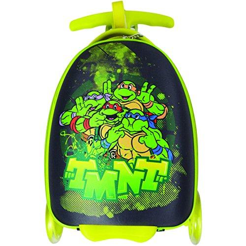 Nickelodeon Kid 's TMNT Uprightスクータースーツケース