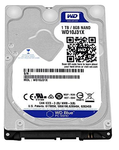 WD SSHD 内蔵ドライブ 2.5インチ 1TB+MLC8GB WD Blue SSHD WD10J31X SATA3.0 16MB