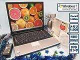中古再生用正規OS:Windows7搭載 ワード・エクセルも使える NEC VersaPro VY18A/W-4 高性能デュアルコア搭載 ワイヤレスマウス付属 大画面 A4ノートPC