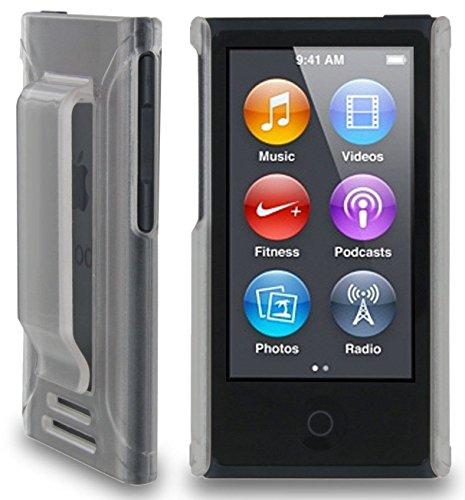 Apple iPod nano 7 ケース クリップ ハード カバー MY WAY™ 7th PC Clip Case + 保護 フィルム クリア 透明
