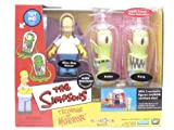 Simpsons - Interactive Environment (Playset) - Alien Spaceship - Treehouse of Horror 2 (THOH2) - TRU exclusive w/3 exclusive figures (Alien Ship Homer, Kang and Kodos) [並行輸入品]