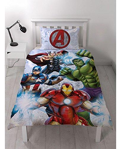 MARVEL Avengers アベンジャーズ 布団カバー + 枕カバー ...