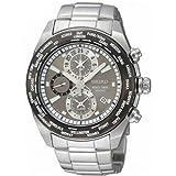 Seiko セイコー Men's SPL035 Criteria ステンレススチール クロノグラフ Grey Dial Watch 男性用 メンズ 腕時計 (並行輸入)