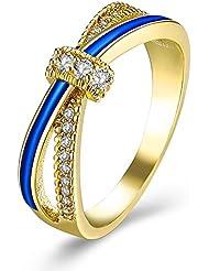 ファッションの指輪 カップルの指輪 個性的なアイデアの指輪 パーティードレスキラキラ水晶の指輪 告白のプレゼント 男女とも使える