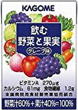 Amazon.co.jp飲む野菜と果実 グレープ味