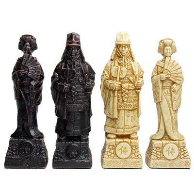 【戦国時代を生きたサムライたち】チェス駒 サムライ A175