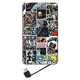 グルマンディーズ 〈STAR WARS〉 USB出力リチウムイオンポリマー充電器 コミック・カラー stw-97b