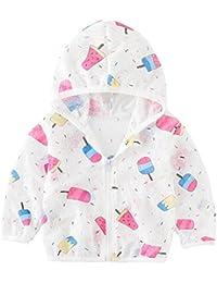 ラッシュガード キッズ 女の子 男の子 ラッシュパーカー 長袖 UVカット虫よけ 紫外線防止 冷え対策 通気性 収納袋付き 軽量 90cm-130cm