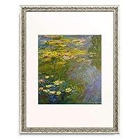 クロード・モネ Claude Monet 「睡蓮,Water Lilies,Les Nymphéas Le bassin aux Nympheas. 1919」 額装アート作品