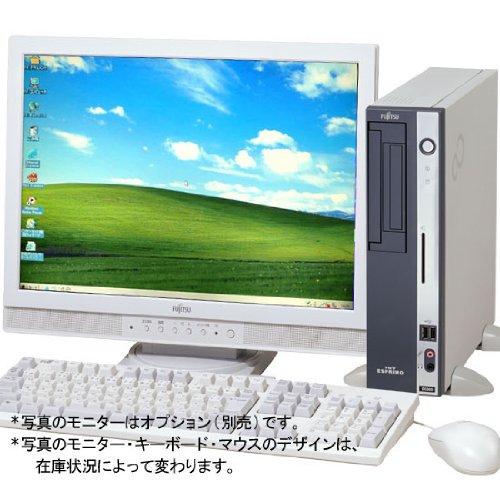 【富士通中古デスクトップパソコン/中古PC】FMV-D5280 C2D-2.8(DVD-ROM.4GB.Windows7 H.32Bit) モニター別売)