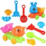 YanGbeau 親子の対話の浜のおもちゃは家5セットのバニースーツのおもちゃの象ATVを再生します (Size : 5-piece rabbit ATV)