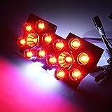 スズキ レッツ2 CA1PA / ZZ CA1PB LED テールランプ 14灯 ナンバー灯搭載 ブレーキランプ バイクテール