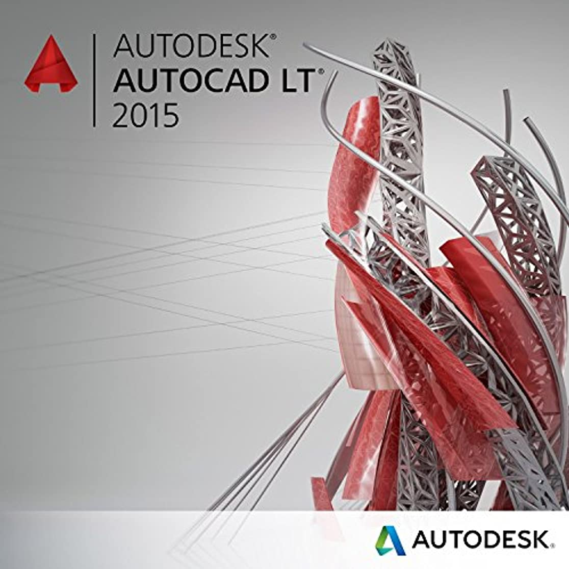 穿孔するハッピー宿命AutoCAD LT 2015 Commercial New SLM with Subscription in the Box