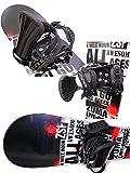 ZUMA(ツマ) ●スノーボード 2点セット● ZUMA【ツマ】メンズ スノーボード板 /ZUMA 5XXXXX LTD(ファイブクロス) + ビンディングZM3700..