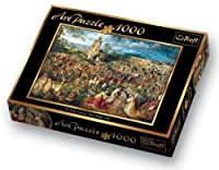 Trefl Brueghel Procession to Calvary 1000ピースジグソーパズルby Modello