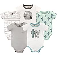 Yoga Sprout Unisex-Baby Cotton Bodysuits Short Sleeve T-Shirt Set