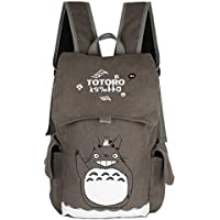 Innturt Classic Totoro Canvas Backpack Rucksack Bag School Backpack Gray