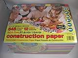 ★★12色! アシッドフリーペーパー 大量648枚入り!★★A4サイズ色画用紙スクラッピングに pacon