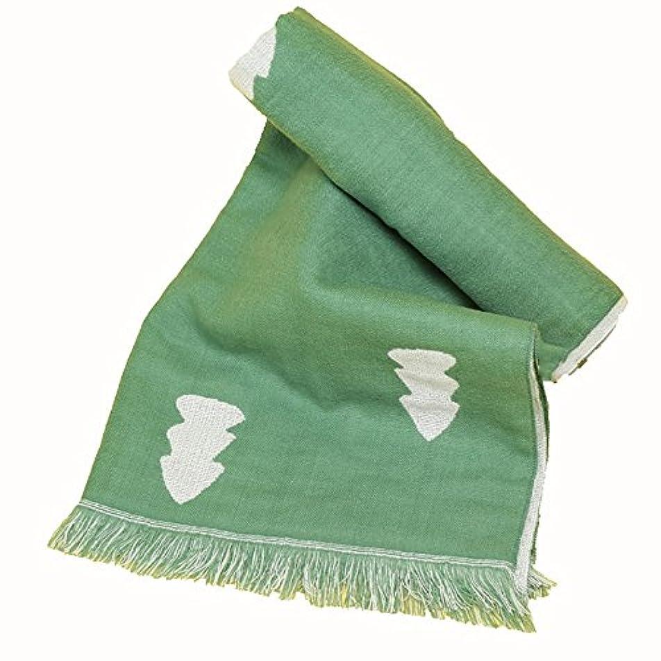 物理驚くべき見つけるZZHF カップルスカーフラブリー快適なソフトプリントロングセクションスカーフフォーシーズンスカーフショールデュアルユースグリーン/イエロー シルクのスカーフ ( 色 : 緑 , サイズ さいず : 190*65CM )