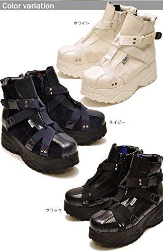 YOSUKE U.S.A ヨースケ 厚底スニーカー メンズ ハイカット 厚底ブーツ