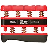 Gripmaster Hand Exerciser, Unisex-Adult, 14002-RED, Red, Medium Tension (7-Pounds per Finger), 7 pounds