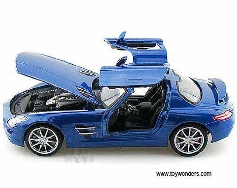 36196bu Maisto (マイスト) Premiere - Mercedes (メルセデス・ベンツ) Benz Sls Amg Hard Top (1:18, Blue) 36196 ダイキャスト Model Auto Vehicle ダイキャスト Metal Iron Toy Transport ミニカー ダイキャスト 車 自動車 ミニチュア 模型 (並行輸入)