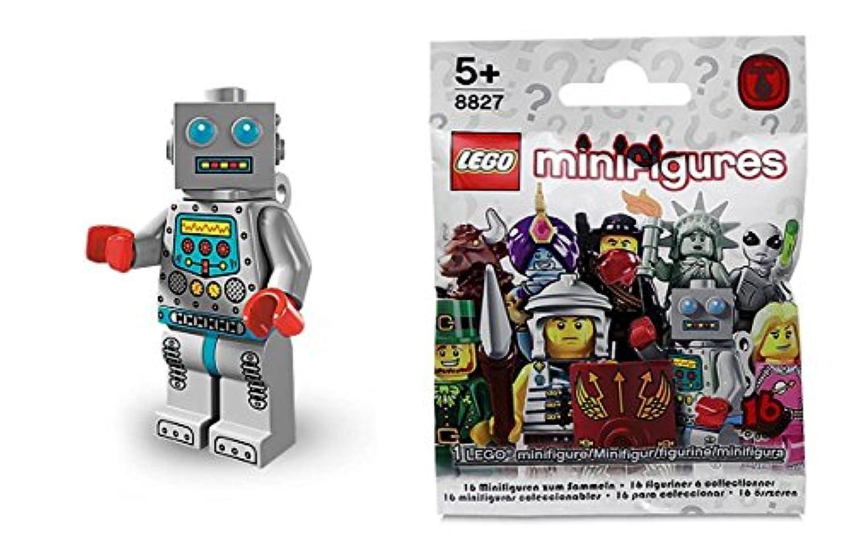 レゴ(LEGO) ミニフィギュア シリーズ6 (Minifigure Series6)ゼンマイ?ロボット 【8827-07】