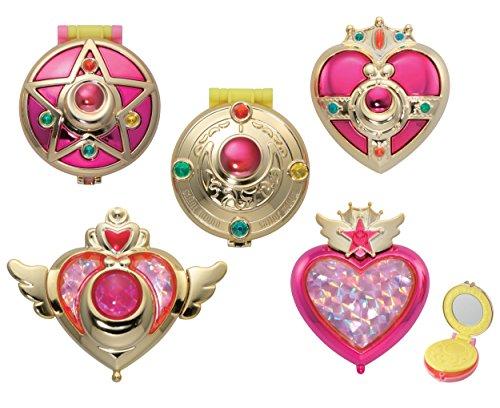 美少女戦士セーラームーン 変身コンパクトミラー 全5種セット...