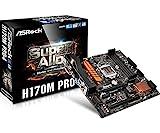 ASRock Intel H170チップセット搭載 MicroATXマザーボード H170M Pro4