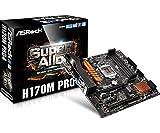 ASRock H170M Pro4 MicroATXマザーボード MB3484 H170M Pro4