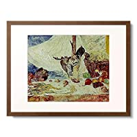 ジェームズ・アンソール 「The dead Cockerel (Le Coq mort). 1894.」 額装アート作品