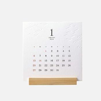 和紋(わもん)[2019年版SHICOスタンドカレンダー]