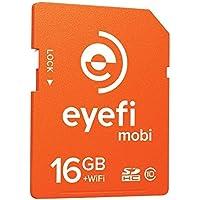 Eyefi Mobi 16GB Class 10 Wi-Fi SDHC Card with 1-year Eyefi Cloud Service, Frustration Free Packaging (MOBI-16PLFF) [並行輸入品]
