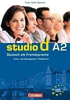 Studio d in Teilbanden: Kurs- und Ubungsbuch A2 mit Lerner-CD (Einheit 7-12)