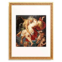 ピーテル・パウル・ルーベンス Peter Paul Rubens 「Boreas abducts Oreithyia」 額装アート作品