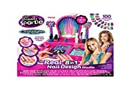Cra-Z-Art Shimmer and Sparkle Crazy Lights Super Nail Salon Kit by Cra Z Art [並行輸入品]