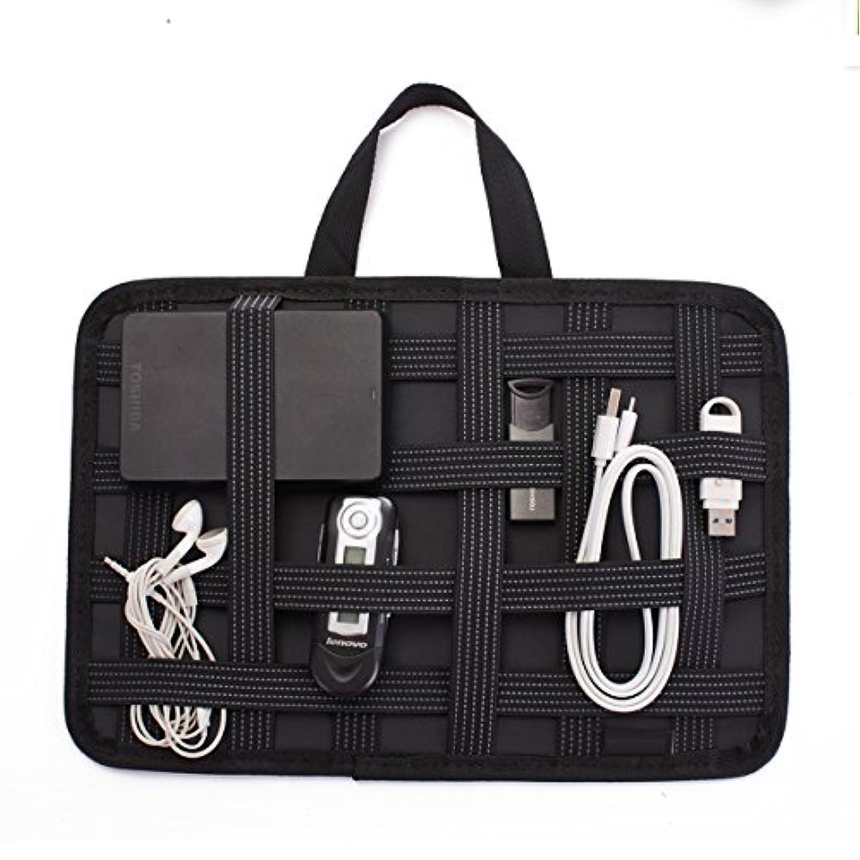 ガジェット&デジものアクセサリ固定ツール B5サイズ A4サイズ インナーバッグ バッグインバッグ 整理 収納バッグ インナーケース