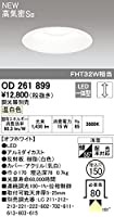 OD261899 オーデリック LEDダウンライト/高気密SB形(調光器別売)