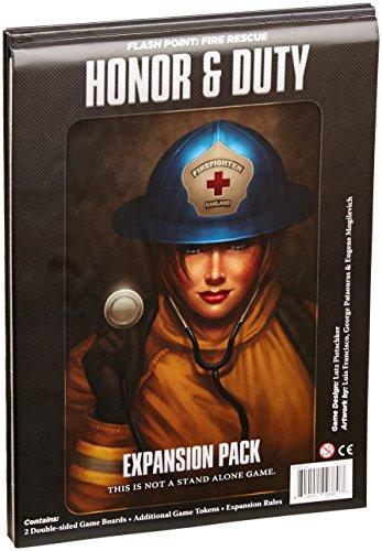 フラッシュポイント 火災救助隊拡張セット 名誉と義務 (Flash Point:Fire Rescue Honor & Duty) ボードゲーム