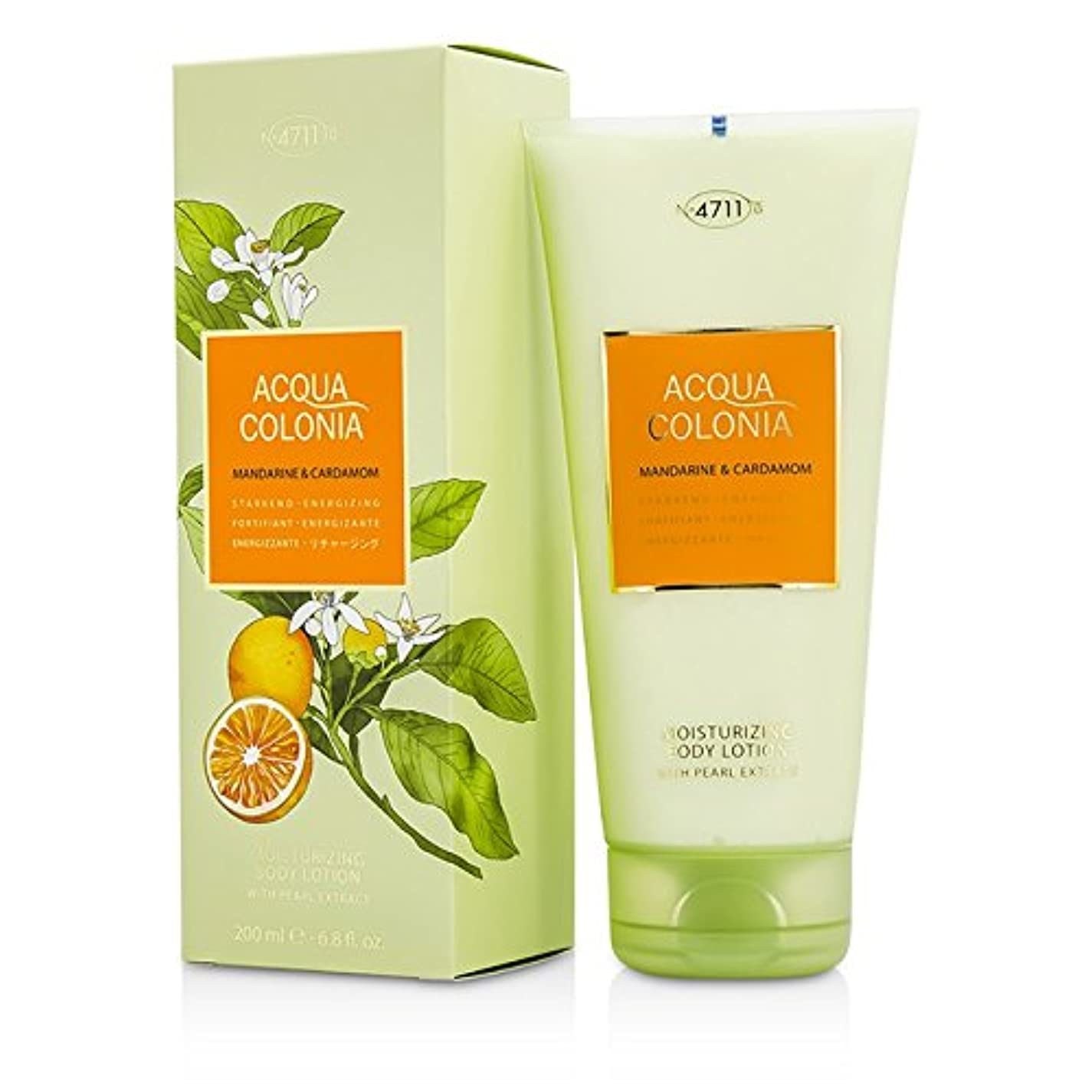 浮く利益達成可能4711 Acqua Colonia Mandarine & Cardamom Moisturizing Body Lotion 200ml/6.8oz並行輸入品