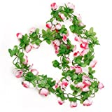Amazon.co.jpHommy 花冠 フラワー ヘッドドレス バラ シャンパン カラー  腕輪 結婚式 ウェディング イベント ブライダル ピンク