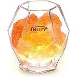 Himalayan Salt Lamp InLife Natural Pink Salt Rock Lamp Salt Crystal Night Light with Dimmer Switch and Natural Air Purifier