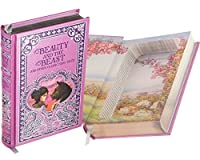 Real Hollow Book Safe - Beauty and the Beast (Leather-bound) (Magnetic Closure) [並行輸入品]